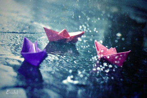 Fotografía de lluvia