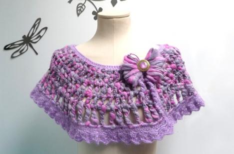 Toquilla de crochet