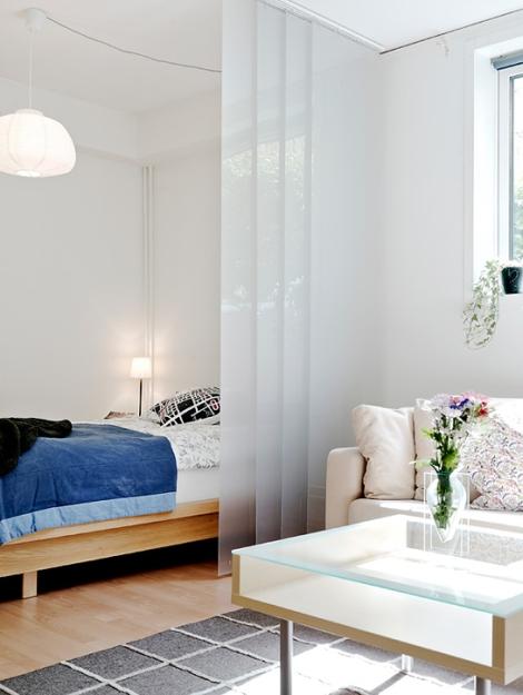 Apartamento de 45 m2 - habitación