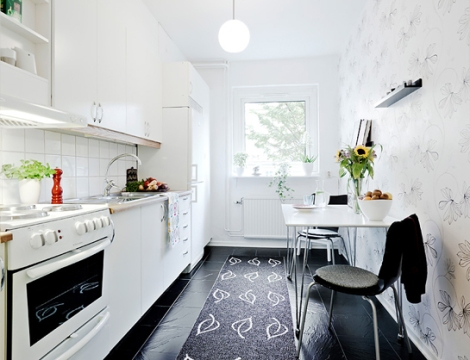 Apartamento de 45 m2 - cocina