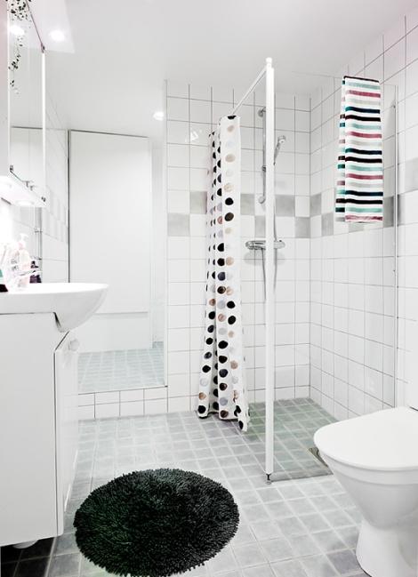 Apartamento de 45 m2 - baño