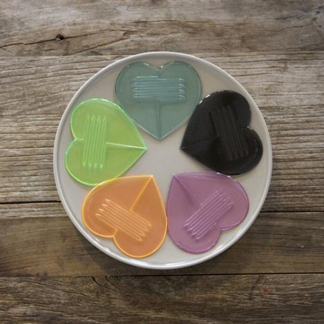 Set de utensilios corazón 1