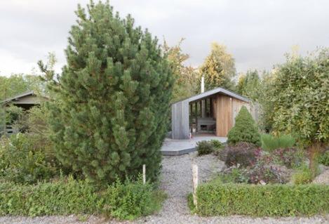 Un jardín ecológico
