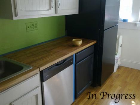 Cocina 1 en progreso