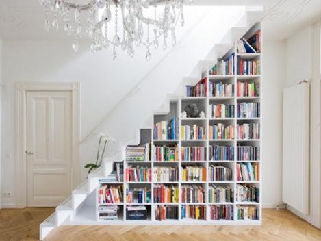 Estantería de escalera